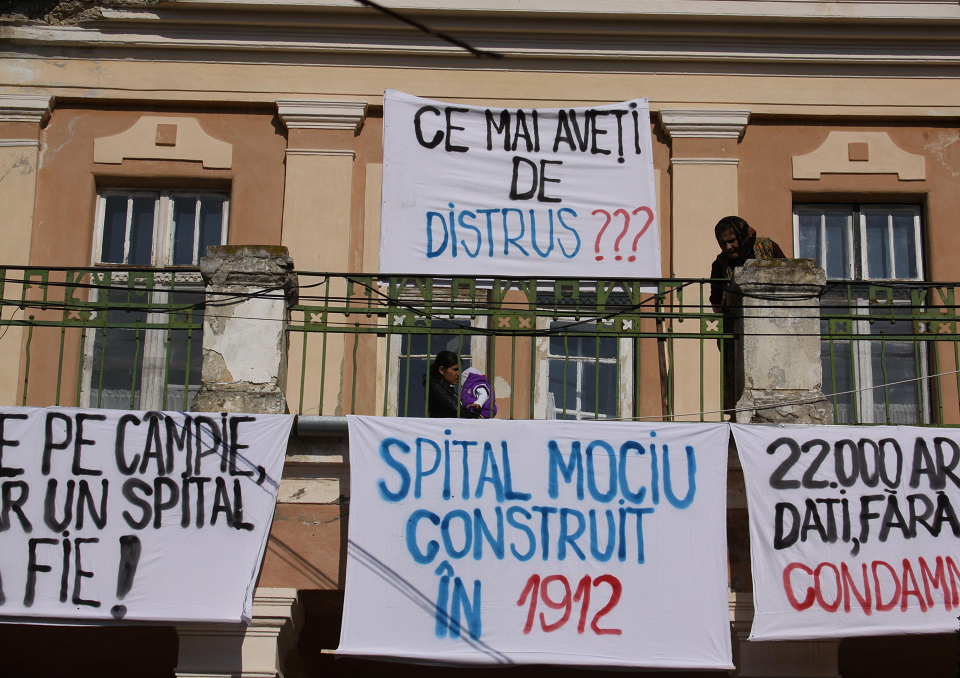 Consilierii PNL-PDL blochează redeschiderea Spitalului de la Mociu!